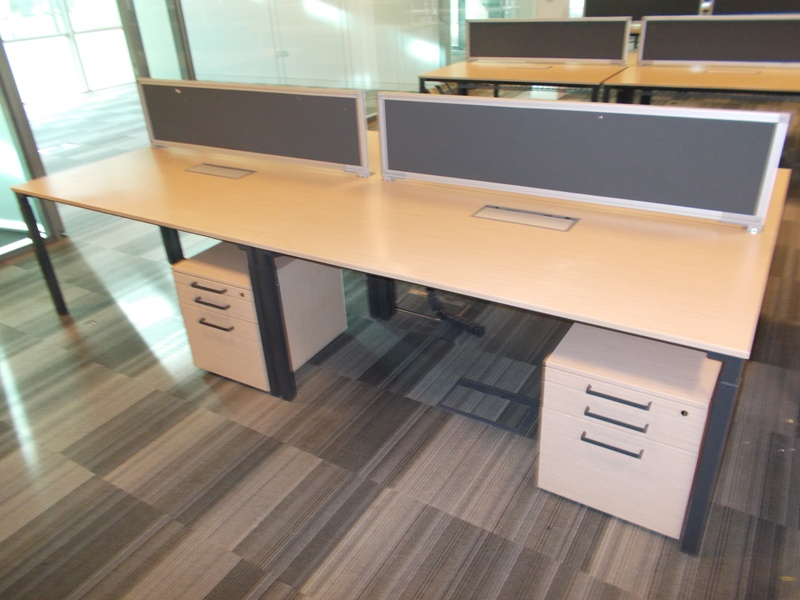 steelcase bench style desking surrey office supplies